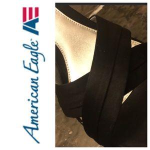 EUC American Eagle Satin Heels